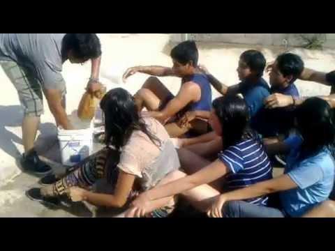 la esponja juegos de agua organizados para grupos de jvenes youtube