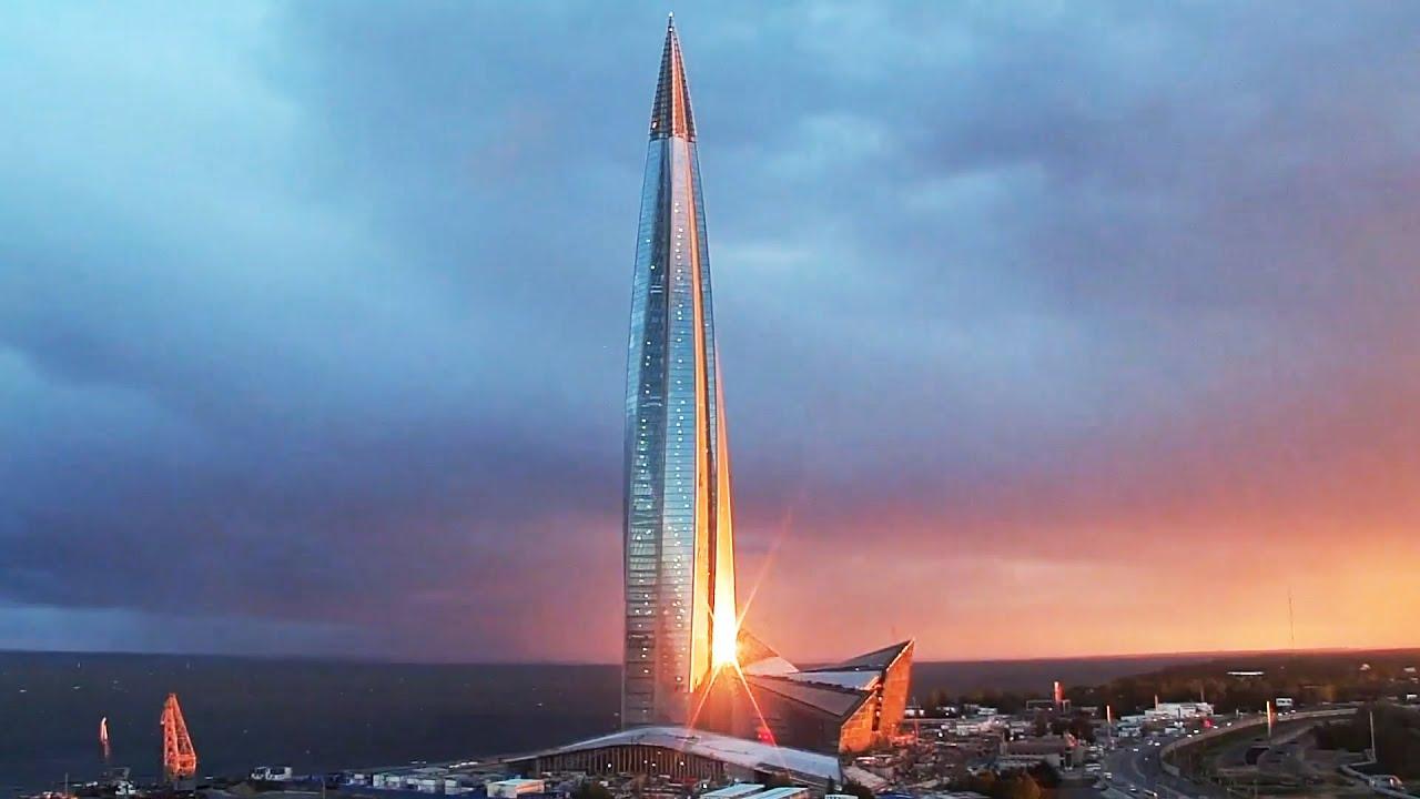Смотрим Лахта Центр — самый высокий в России небоскреб