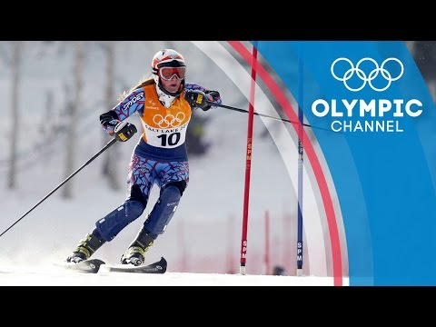 Lindsey Vonn's First Olympics back in 2002   Olympic Debut
