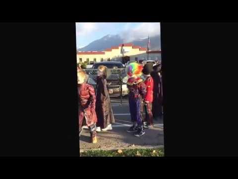 Caleb Halloween Parade Timpanogos Academy Oct. 31, 2015