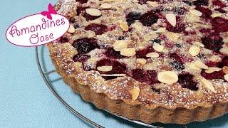 Beeren-Mandel-Tarte für jede Jahreszeit | fruchtig & fein | einfaches Rezept