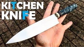 Knifemaking: Kitchen Knife | RWL-34 & Pappel | Messerbau