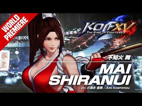 KOF XV|MAI SHIRANUI|Character Trailer #13 (4K)