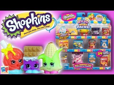 *NEW* Shopkins Oh So Real Mini Packs Unboxing!! | Sneak Peek