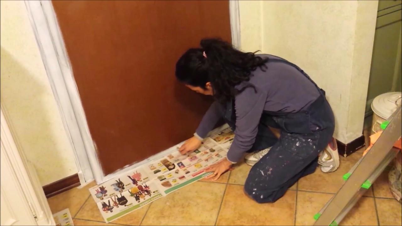 Dipingere Le Porte Di Casa riverniciare il portoncino blindato parte 1