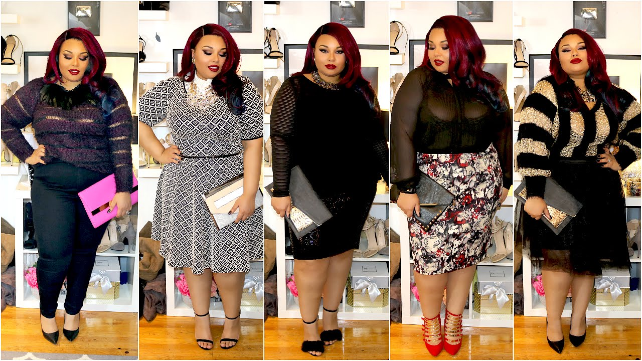 Passion Jonesz Plus Size Valentines Day Outfit Ideas Youtube
