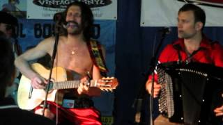 "Gogol Bordello - ""Sun is on My Side"" (Acoustic) live Vintage Vinyl July 22 2013"