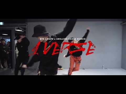 [FANMADE] BTS J-HOPE '1 VERSE' x 1MILLION Dance Studio