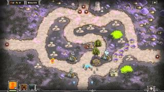 Kingdom Rush Walkthrough - Fungal Forest - 3 Stars [Steam version][HD]