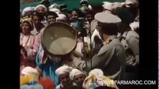 hassan 2 avec ahwach : الحسن التاني وفرقة أحواش  : ملي مشيتي مشى معاك الفن والفنان الله يرحمك