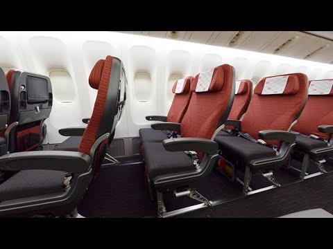 JAL NEW B777-200ER economy class: Japan Airlines Hong Kong to Tokyo Haneda