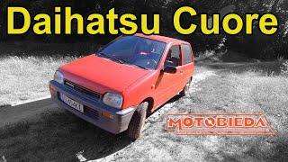 Daihatsu Cuore - kuzyn Daewoo Tico - MotoBieda