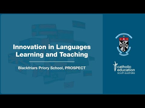 Innovation Of Languages - Blackfriars