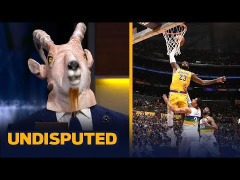 Zion played unbelievable, but LeBron showed this is his stage — Shannon Sharpe | NBA | UNDISPUTED
