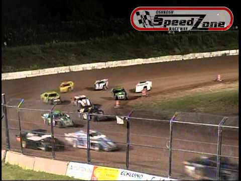 Oshkosh Speedzone Raceway - August 30, 2013 - Sport Modified Feature
