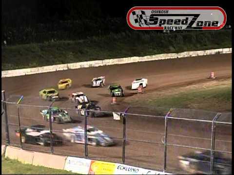 Oshkosh Speedzone Raceway - August 30, 2013 - Sport Modified Feature
