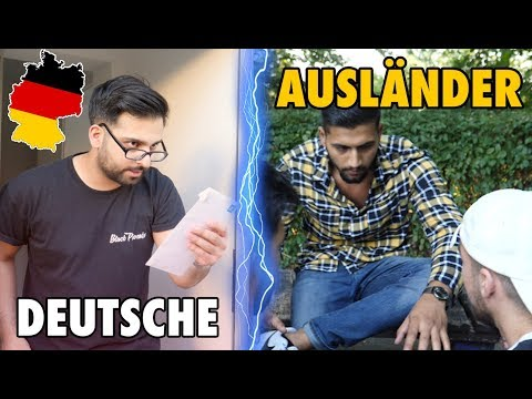 Deutsche & Ausländer im ALLTAG | Good Life Crew