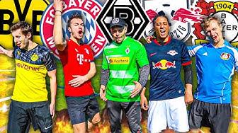 KRASSE KLATSCHE & TRAUMTORE - BUNDESLIGA FUßBALL CHALLENGE