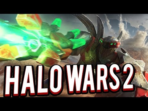 Attack of the Hunters - Halo Wars 2 Multiplayer 2v2