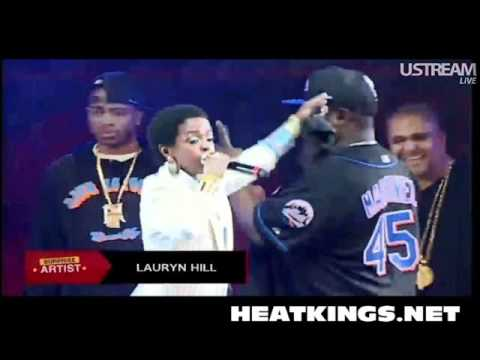 Nas Brings Out Lauryn Hill At Summer Jam 2012