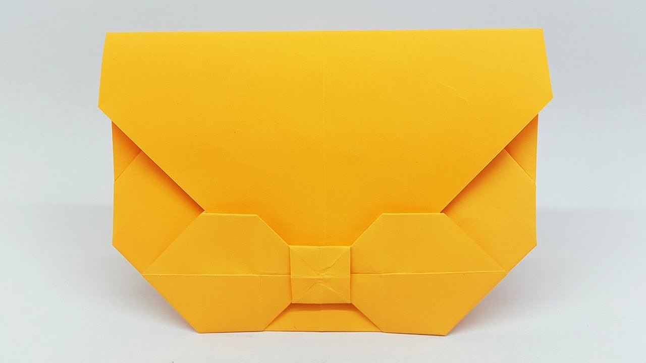 Paper Envelope Making Without Glue or Tape - DIY Easy [Origami ... | 720x1280