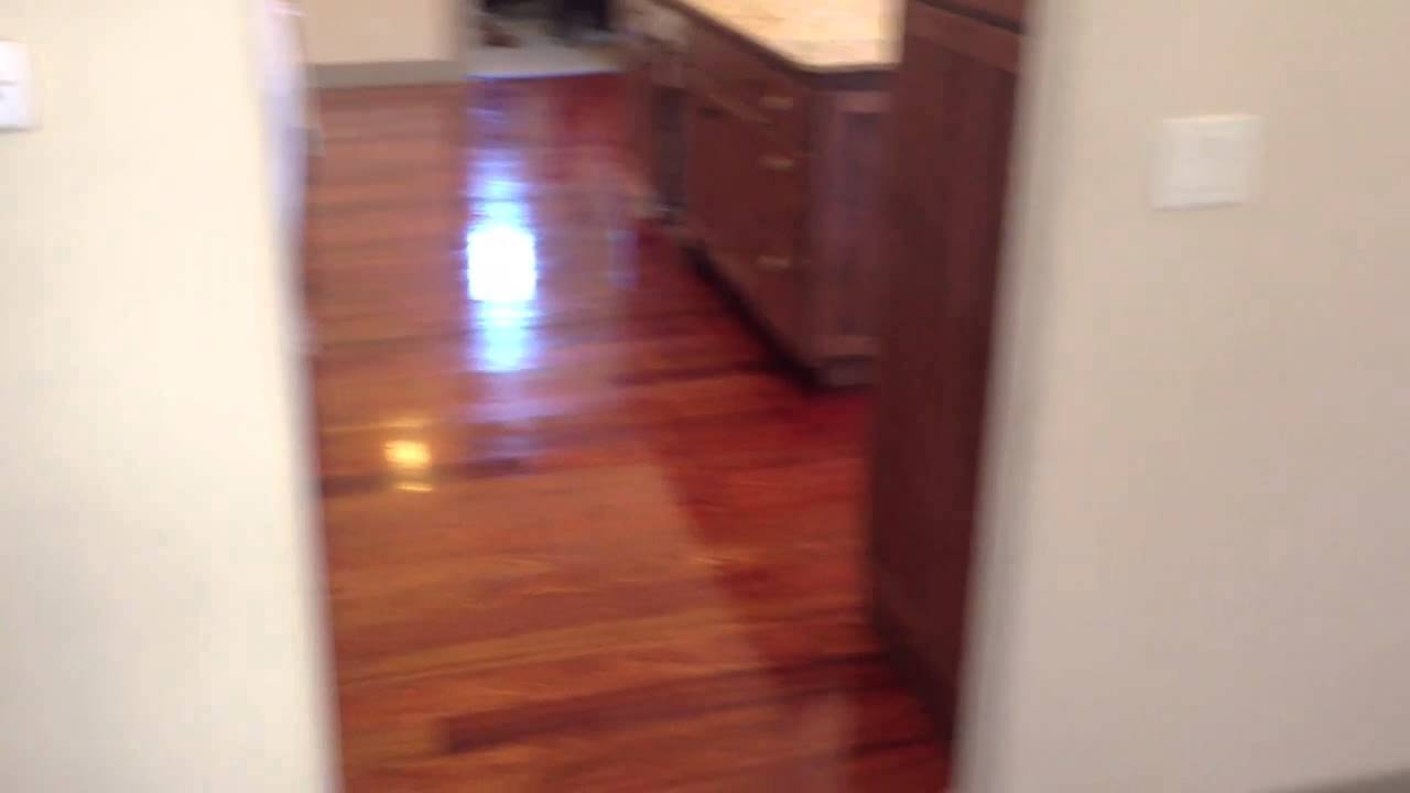 Brazilian Cherry Hardwood Floor Auburn Granite Bay Ca Youtube