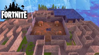 The Block, A Giant Labyrinth! Fortnite Saving the World