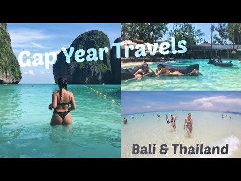GAP YEAR TRAVELS | BALI & THAILAND 🌊