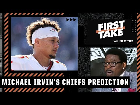 'Nobody's scared anymore!' - Michael Irvin predicts the Chiefs will MISS THE PLAYOFFS   First Take