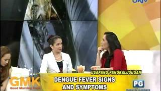 Dengue Fever: Signs and Symptoms