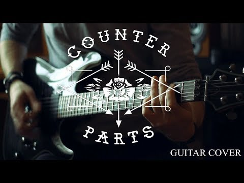 COUNTERPARTS - The Constant [Guitar Cover] Full HD Guitar Playthrough