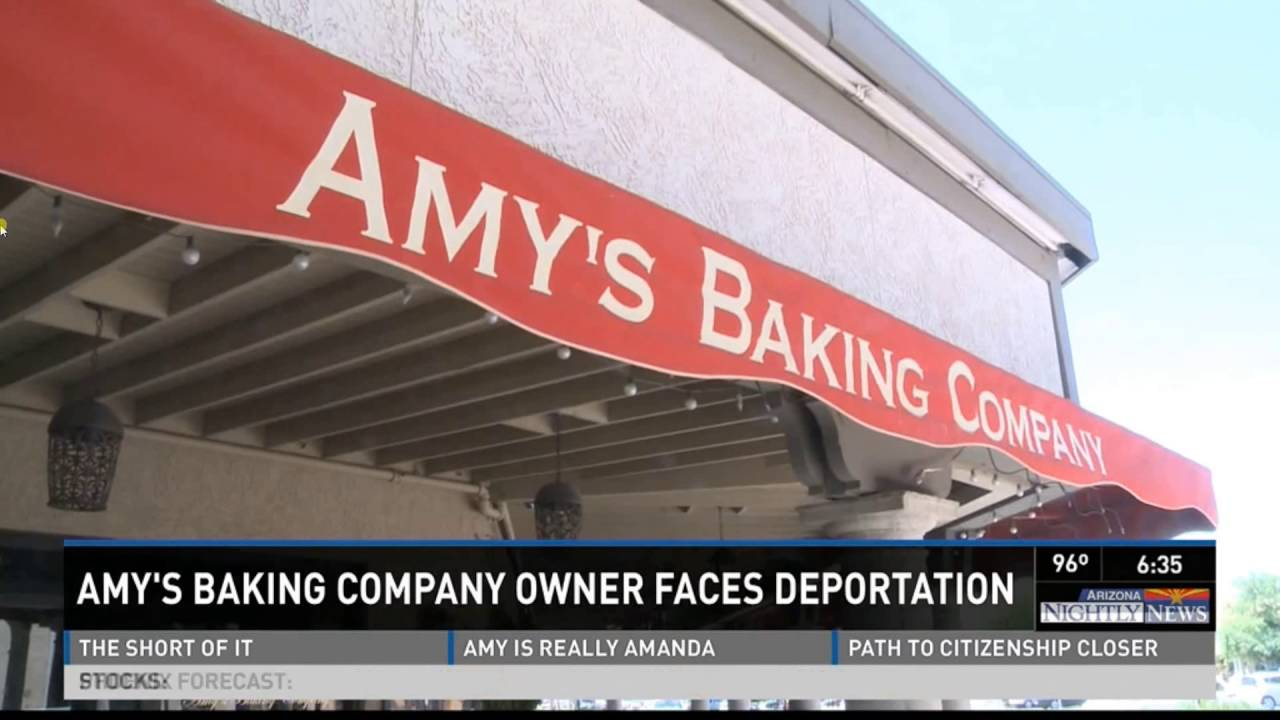 Download Samy Bouzaglo of Amy's Baking Company to be Deported