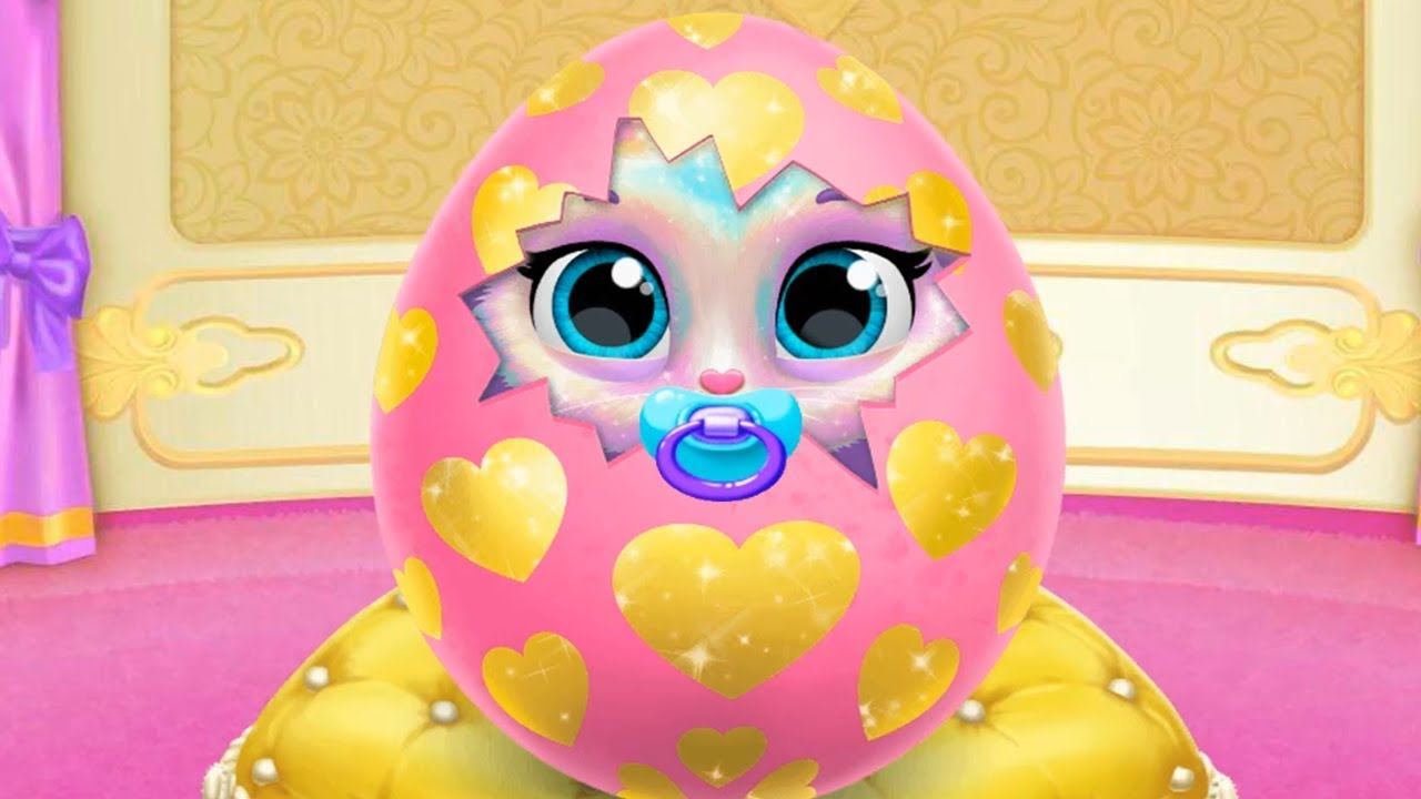 Play Fun New Born Baby Kitten Kids Games – Twinkle Unicorn Cat Princess – Fun Babysitter, Care Games