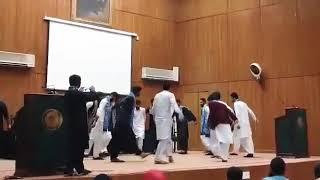 Ajrak day celebration. Arid university saraiki cultural dance 6 March 2018