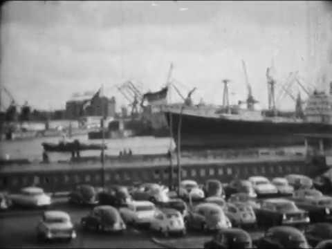 Hamburg 1962 - ein Normal-8-Film
