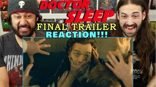 DOCTOR SLEEP - FINAL TRAILER | REACTION!!!