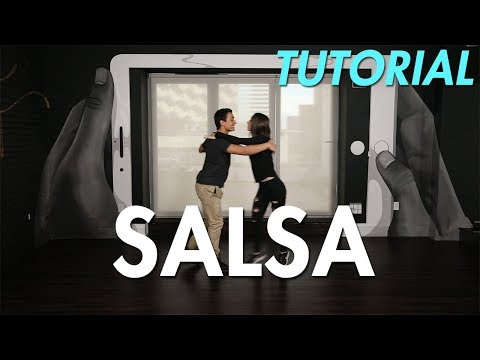 How to Salsa: Swivel Salsa Step (Ballroom Dance Moves Tutorial) | MihranTV