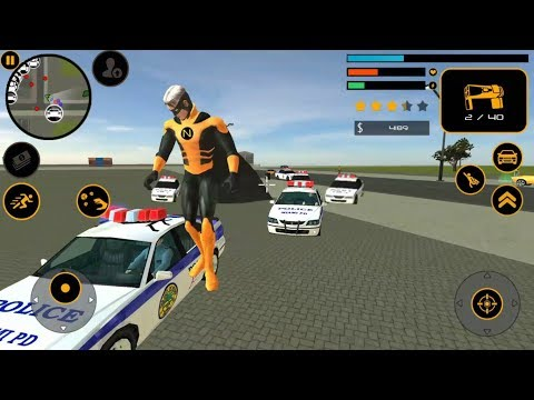 ► Naxeex Superhero New Crime Simulator Games - The Flying Hero By Naxeex LLC