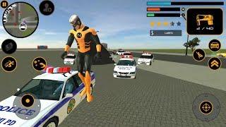 ► Naxeex Superhero New Crime Simulator Games - The Flying Hero By Naxeex LLC