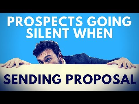 HOW TO STOP PROSPECT FROM GOING SILENT AFTER YOU CREATE THE DIGITAL AGENCY PROPOSAL