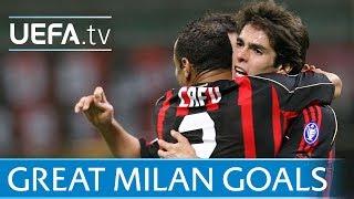 Milan - Five classic European goals