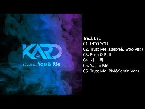 [Full Album] KARD – YOU & ME (2nd Mini Album)