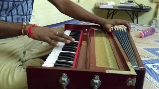 Aaja Sanam Madhur Chandani Me Hum on Harmonium