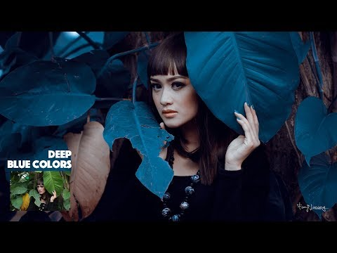 Green To Blue Deep Colour Effects Photoshop Tutorial Color Grading