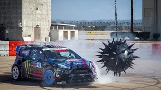 Repeat youtube video NEED FOR SPEED: KEN BLOCK'S GYMKHANA SIX -- ULTIMATE GYMKHANA GRID COURSE