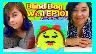 Blind Bag Wednesday Ep101 | World Play-doh Day Special | Shopkins Taco Terrie And Mom