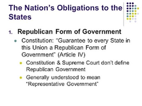 Principals of Nationality in Action: What exactly is a Republican and Democratic party?