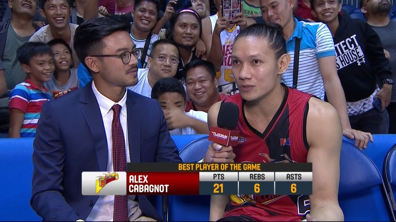 Best Player: Alex Cabagnot | PBA Commissioner's Cup 2018
