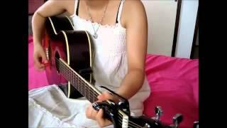 メルモがアコースティックギターで弾き語り☆ 静かなメルモですにょ(○^...