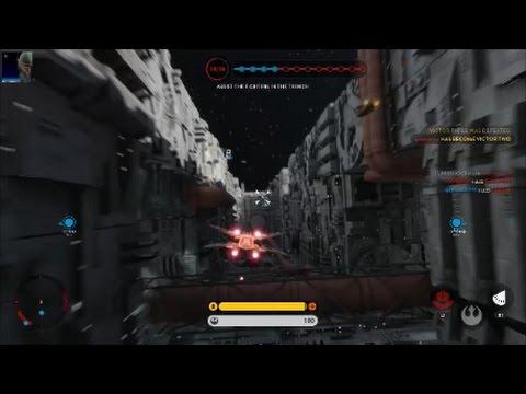 Star Wars Battlefront - Death Star DLC Battle Station Gameplay PS4 60fps (No Commentary)